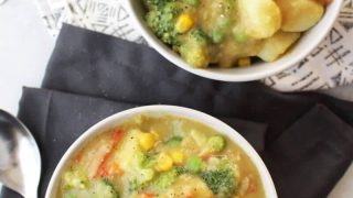 Easy Instant Pot Green Coconut Curry