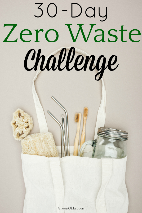 zero waste supplies in cloth bag