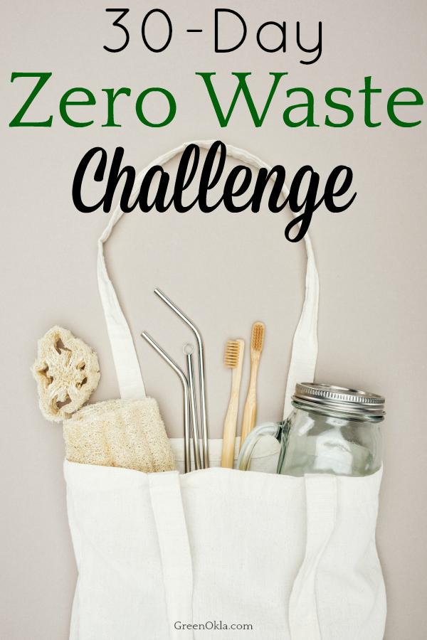 zero waste supplies in cloth bag