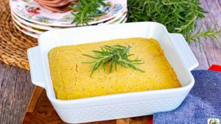 Vegan Cornbread with Rosemary