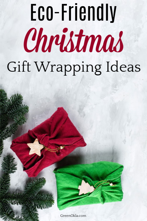 gifts wrapped in fabric