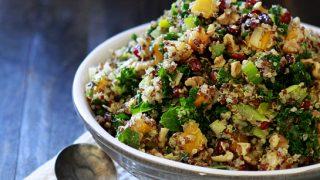 Butternut Squash and Kale Quinoa Stuffing