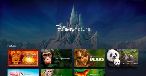 Disneynature on Disney Plus screen shot