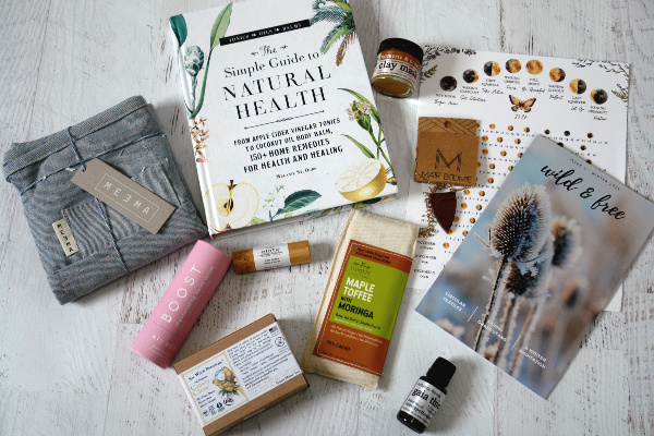 flat lay of earthlove box contents