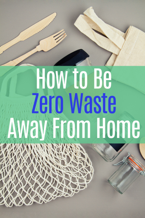 reusable zero waste products on table