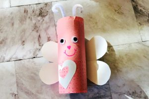 Love Bug Toilet Paper Roll Craft