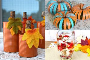 12 Easy Fall Crafts From Your Recycling Bin